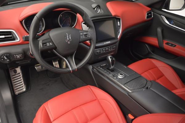 Used 2017 Maserati Ghibli S Q4 for sale $42,900 at Aston Martin of Greenwich in Greenwich CT 06830 13