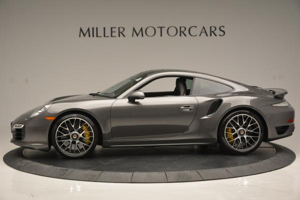 Used 2014 Porsche 911 Turbo S for sale Sold at Aston Martin of Greenwich in Greenwich CT 06830 3
