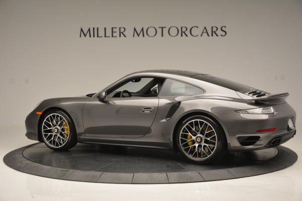 Used 2014 Porsche 911 Turbo S for sale Sold at Aston Martin of Greenwich in Greenwich CT 06830 4