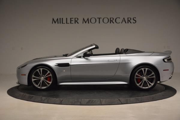 Used 2015 Aston Martin V12 Vantage S Roadster for sale Sold at Aston Martin of Greenwich in Greenwich CT 06830 3