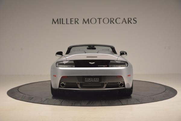 Used 2015 Aston Martin V12 Vantage S Roadster for sale Sold at Aston Martin of Greenwich in Greenwich CT 06830 6