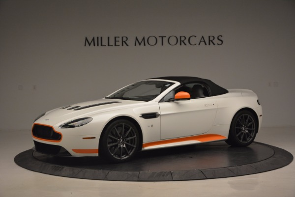 Used 2017 Aston Martin V12 Vantage S Convertible for sale $155,900 at Aston Martin of Greenwich in Greenwich CT 06830 14