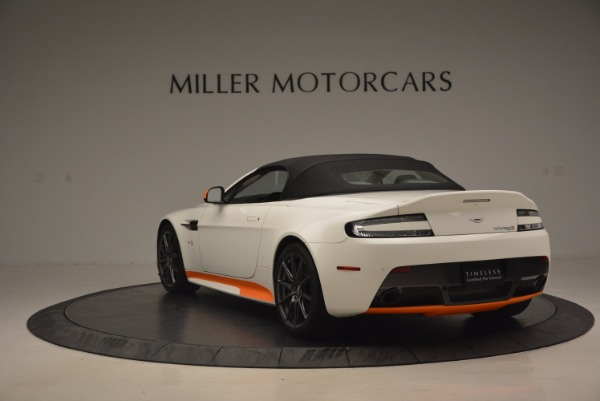Used 2017 Aston Martin V12 Vantage S Convertible for sale $155,900 at Aston Martin of Greenwich in Greenwich CT 06830 17