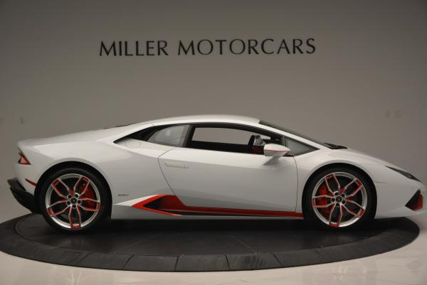 Used 2015 Lamborghini Huracan LP610-4 for sale Sold at Aston Martin of Greenwich in Greenwich CT 06830 11