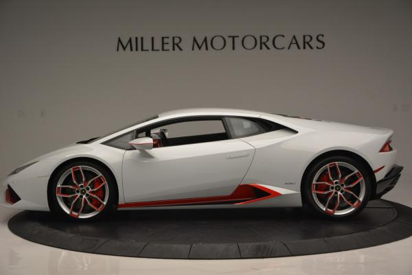 Used 2015 Lamborghini Huracan LP610-4 for sale Sold at Aston Martin of Greenwich in Greenwich CT 06830 3