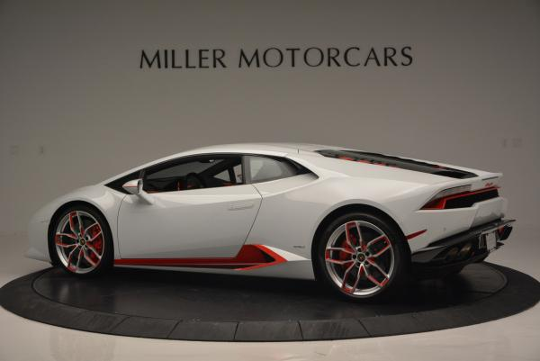 Used 2015 Lamborghini Huracan LP610-4 for sale Sold at Aston Martin of Greenwich in Greenwich CT 06830 4