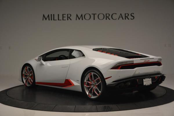 Used 2015 Lamborghini Huracan LP610-4 for sale Sold at Aston Martin of Greenwich in Greenwich CT 06830 5