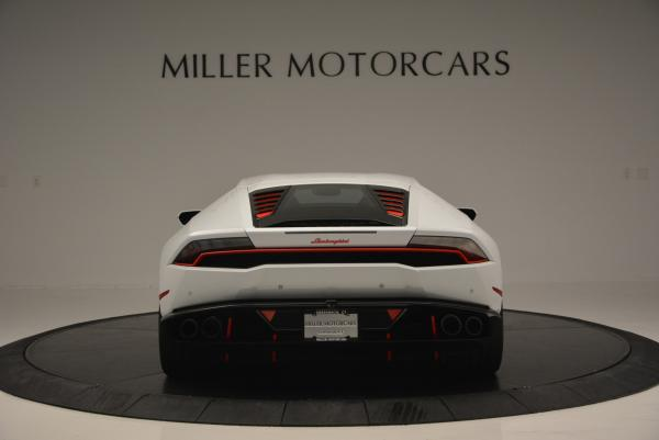 Used 2015 Lamborghini Huracan LP610-4 for sale Sold at Aston Martin of Greenwich in Greenwich CT 06830 6