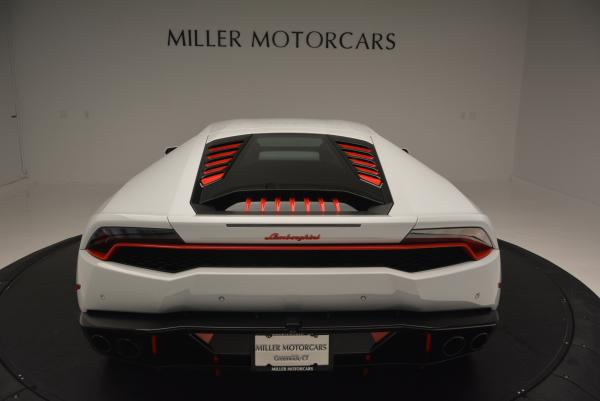 Used 2015 Lamborghini Huracan LP610-4 for sale Sold at Aston Martin of Greenwich in Greenwich CT 06830 7