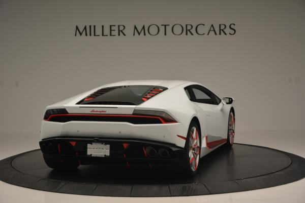 Used 2015 Lamborghini Huracan LP610-4 for sale Sold at Aston Martin of Greenwich in Greenwich CT 06830 9