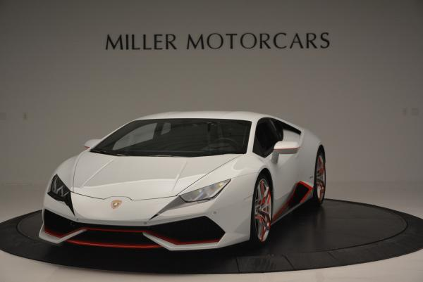 Used 2015 Lamborghini Huracan LP610-4 for sale Sold at Aston Martin of Greenwich in Greenwich CT 06830 1