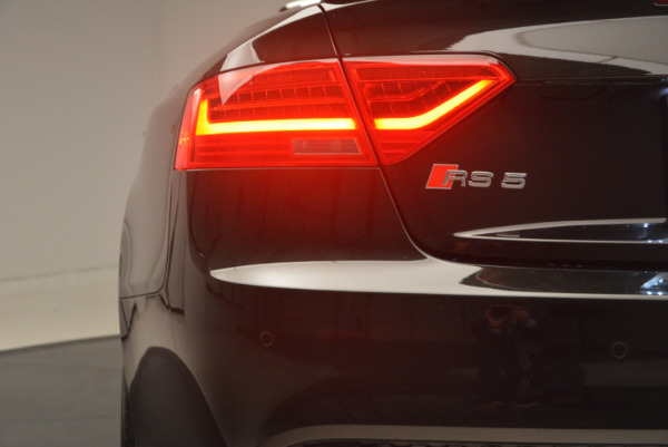 Used 2014 Audi RS 5 quattro for sale Sold at Aston Martin of Greenwich in Greenwich CT 06830 26