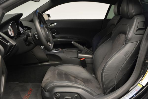 Used 2012 Audi R8 GT (R tronic) for sale Sold at Aston Martin of Greenwich in Greenwich CT 06830 14