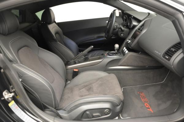 Used 2012 Audi R8 GT (R tronic) for sale Sold at Aston Martin of Greenwich in Greenwich CT 06830 17
