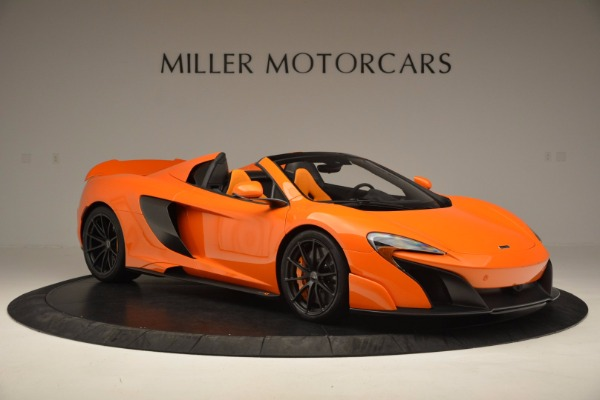 Used 2016 McLaren 675LT Spider Convertible for sale Sold at Aston Martin of Greenwich in Greenwich CT 06830 10