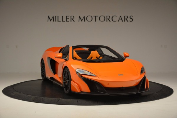 Used 2016 McLaren 675LT Spider Convertible for sale Sold at Aston Martin of Greenwich in Greenwich CT 06830 11