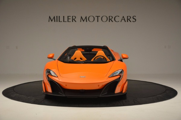 Used 2016 McLaren 675LT Spider Convertible for sale Sold at Aston Martin of Greenwich in Greenwich CT 06830 12