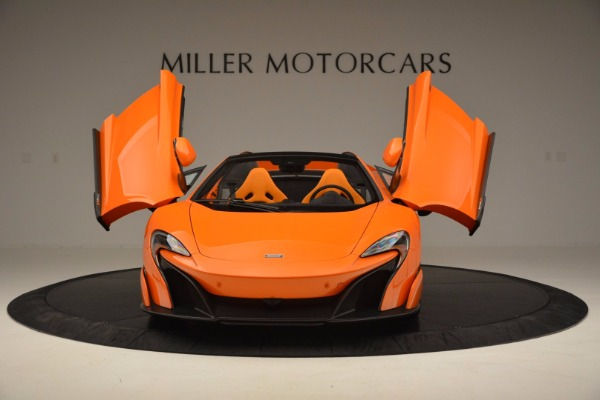 Used 2016 McLaren 675LT Spider Convertible for sale Sold at Aston Martin of Greenwich in Greenwich CT 06830 13