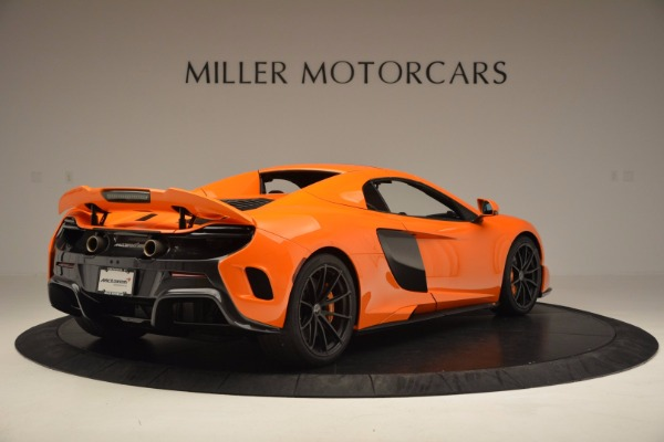 Used 2016 McLaren 675LT Spider Convertible for sale Sold at Aston Martin of Greenwich in Greenwich CT 06830 18