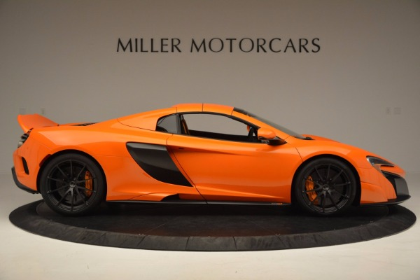 Used 2016 McLaren 675LT Spider Convertible for sale Sold at Aston Martin of Greenwich in Greenwich CT 06830 19