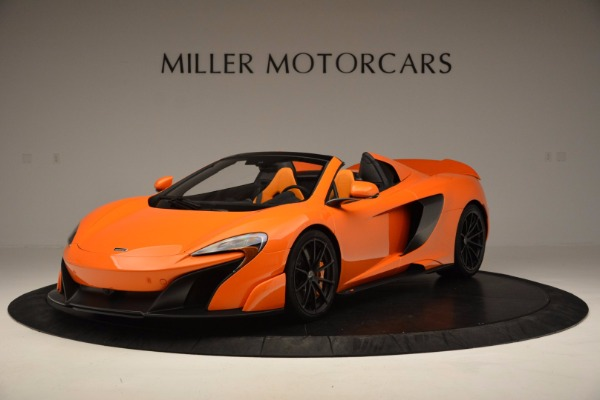 Used 2016 McLaren 675LT Spider Convertible for sale Sold at Aston Martin of Greenwich in Greenwich CT 06830 2