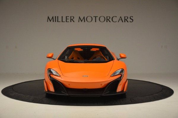 Used 2016 McLaren 675LT Spider Convertible for sale Sold at Aston Martin of Greenwich in Greenwich CT 06830 21