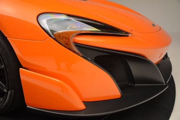 Used 2016 McLaren 675LT Spider Convertible for sale Sold at Aston Martin of Greenwich in Greenwich CT 06830 28