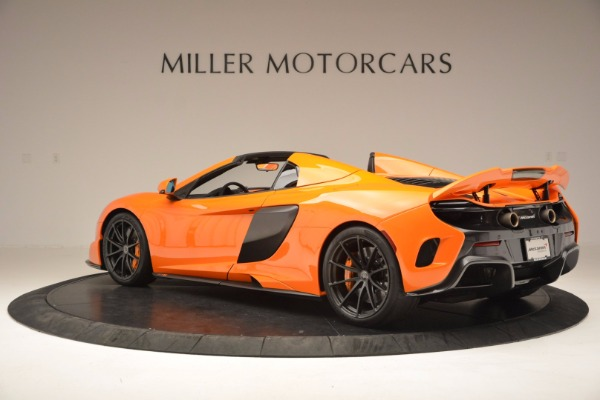 Used 2016 McLaren 675LT Spider Convertible for sale Sold at Aston Martin of Greenwich in Greenwich CT 06830 4