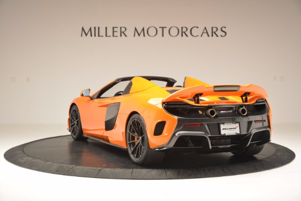 Used 2016 McLaren 675LT Spider Convertible for sale Sold at Aston Martin of Greenwich in Greenwich CT 06830 5