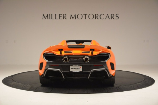 Used 2016 McLaren 675LT Spider Convertible for sale Sold at Aston Martin of Greenwich in Greenwich CT 06830 6