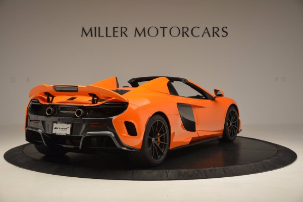Used 2016 McLaren 675LT Spider Convertible for sale Sold at Aston Martin of Greenwich in Greenwich CT 06830 7