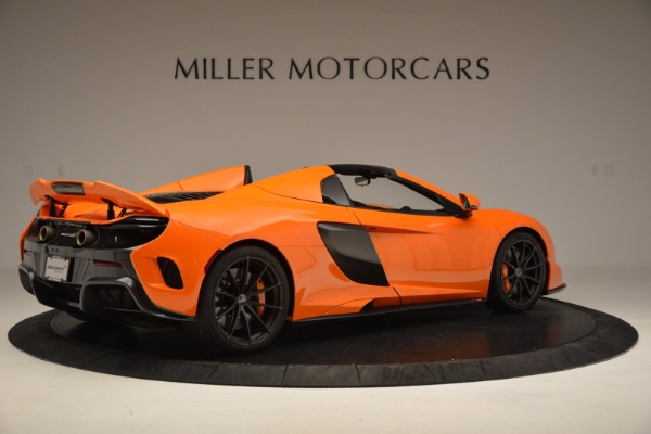 Used 2016 McLaren 675LT Spider Convertible for sale Sold at Aston Martin of Greenwich in Greenwich CT 06830 8