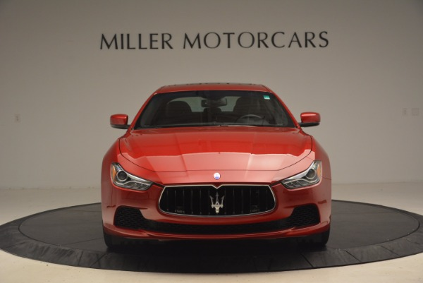 Used 2014 Maserati Ghibli S Q4 for sale Sold at Aston Martin of Greenwich in Greenwich CT 06830 12