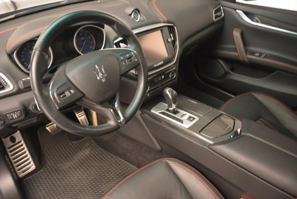 Used 2015 Maserati Ghibli S Q4 for sale Sold at Aston Martin of Greenwich in Greenwich CT 06830 12