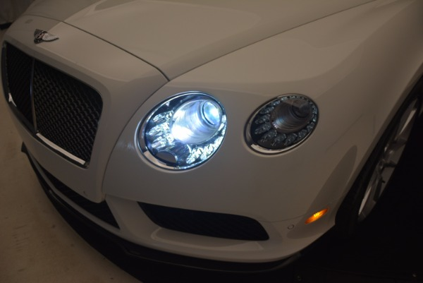 Used 2015 Bentley Continental GT V8 S for sale Sold at Aston Martin of Greenwich in Greenwich CT 06830 27
