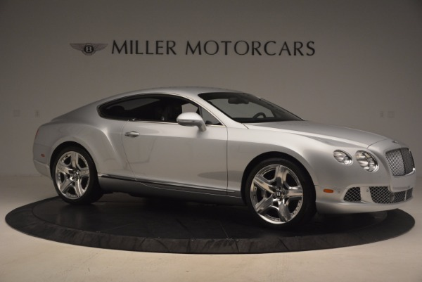 Used 2012 Bentley Continental GT for sale Sold at Aston Martin of Greenwich in Greenwich CT 06830 10