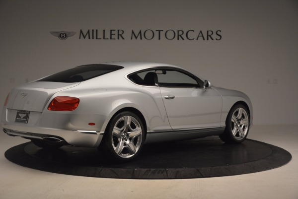 Used 2012 Bentley Continental GT for sale Sold at Aston Martin of Greenwich in Greenwich CT 06830 8