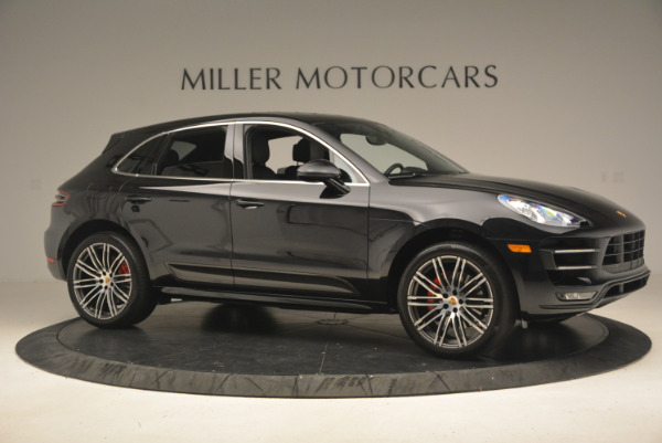 Used 2016 Porsche Macan Turbo for sale Sold at Aston Martin of Greenwich in Greenwich CT 06830 10