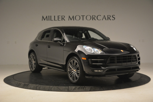 Used 2016 Porsche Macan Turbo for sale Sold at Aston Martin of Greenwich in Greenwich CT 06830 11