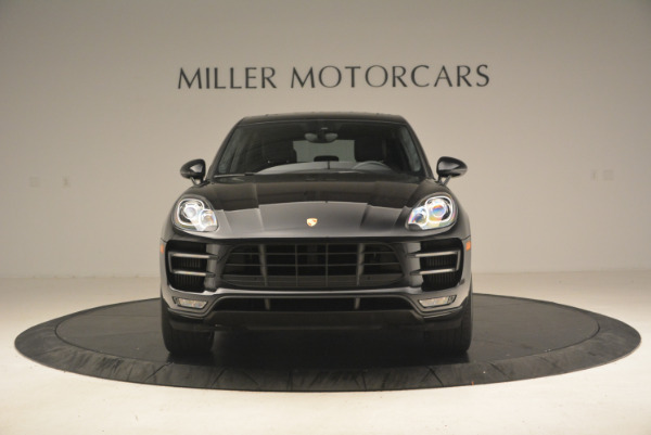 Used 2016 Porsche Macan Turbo for sale Sold at Aston Martin of Greenwich in Greenwich CT 06830 12