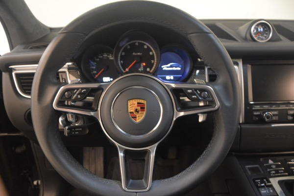 Used 2016 Porsche Macan Turbo for sale Sold at Aston Martin of Greenwich in Greenwich CT 06830 18