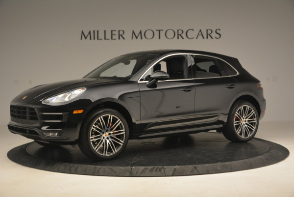 Used 2016 Porsche Macan Turbo for sale Sold at Aston Martin of Greenwich in Greenwich CT 06830 2