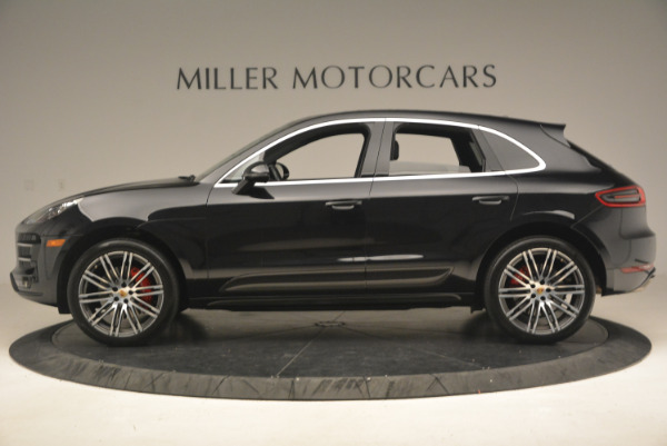 Used 2016 Porsche Macan Turbo for sale Sold at Aston Martin of Greenwich in Greenwich CT 06830 3