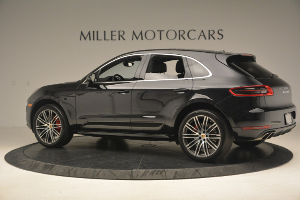 Used 2016 Porsche Macan Turbo for sale Sold at Aston Martin of Greenwich in Greenwich CT 06830 4