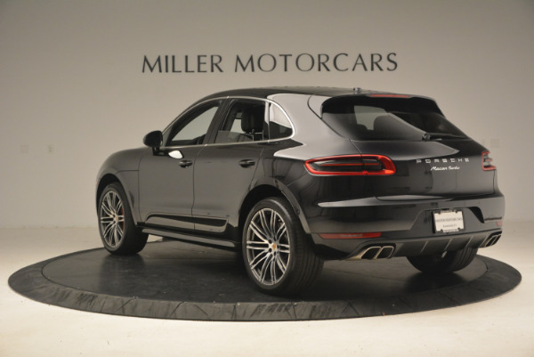Used 2016 Porsche Macan Turbo for sale Sold at Aston Martin of Greenwich in Greenwich CT 06830 5