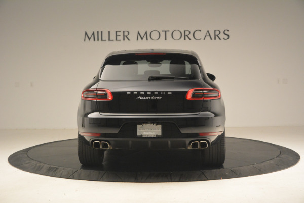 Used 2016 Porsche Macan Turbo for sale Sold at Aston Martin of Greenwich in Greenwich CT 06830 6