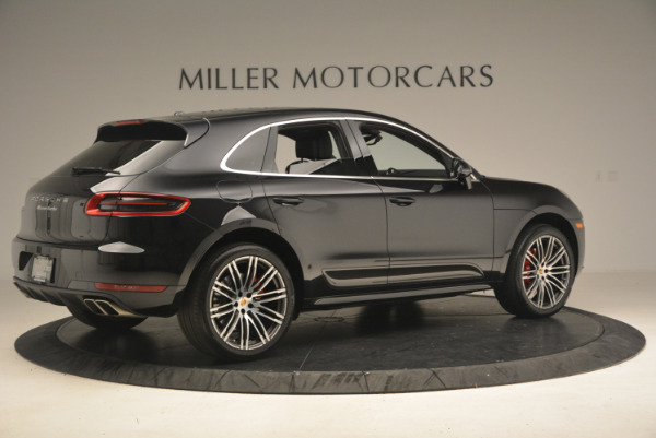 Used 2016 Porsche Macan Turbo for sale Sold at Aston Martin of Greenwich in Greenwich CT 06830 8