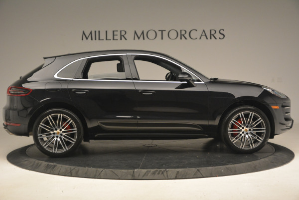 Used 2016 Porsche Macan Turbo for sale Sold at Aston Martin of Greenwich in Greenwich CT 06830 9