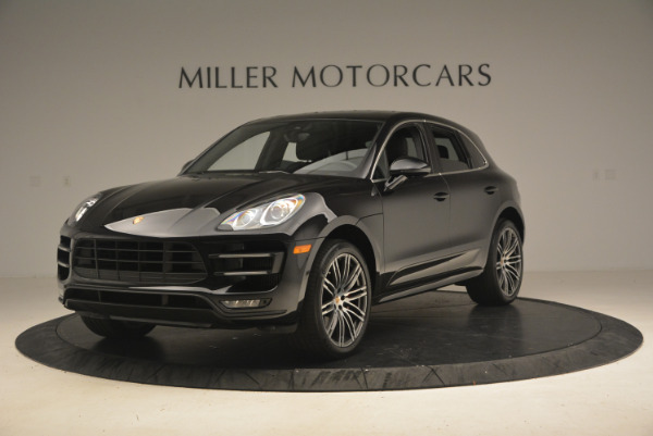 Used 2016 Porsche Macan Turbo for sale Sold at Aston Martin of Greenwich in Greenwich CT 06830 1