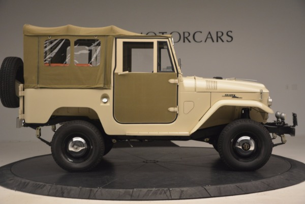 Used 1966 Toyota FJ40 Land Cruiser Land Cruiser for sale Sold at Aston Martin of Greenwich in Greenwich CT 06830 12
